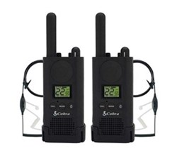 Cobra Waterproof Radios cobra px500bc1 sv01 walkie talkies pro business two way radios