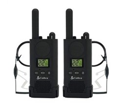 Cobra Waterproof Radios cobra px880bc1 sv01 walkie talkies pro business two way radios
